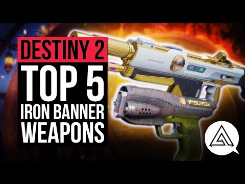 Destiny 2: here are the five best weapons you can get your hands on in Iron Banner