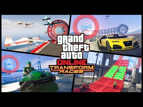 Transform races are coming to GTA Online and these stunt races feature a fun twist