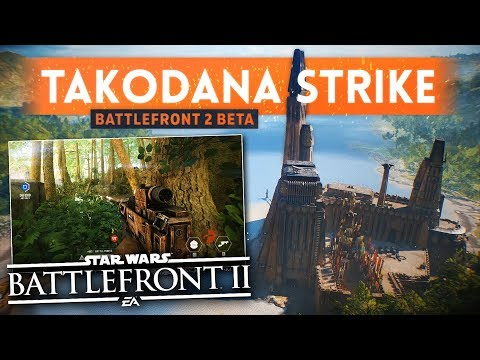 Star Wars Battlefront 2:  check out 10 minutes of beta gameplay showing the Strike on Takodana