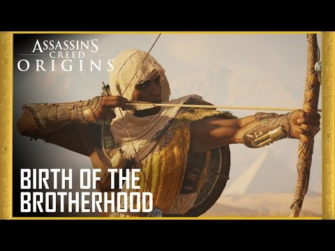 The new Assassin's Creed Origins trailer shows off the stabby origins of the whole saga