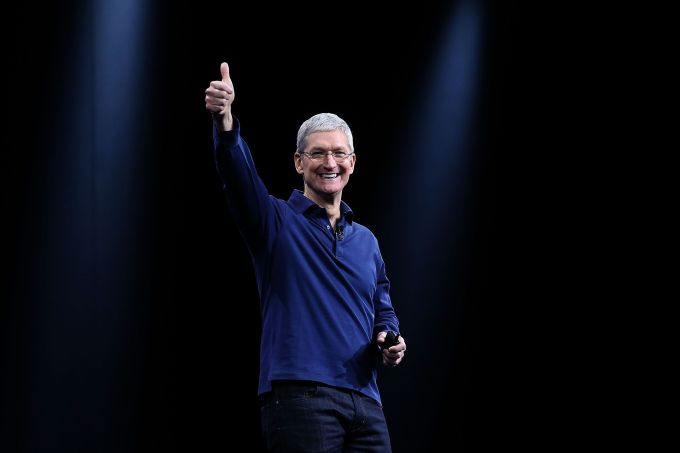 Tim Cook is optimistic about social progress