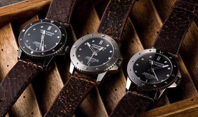 The Arsenale Automatic is a tribute to the Venetian shipyards of yore