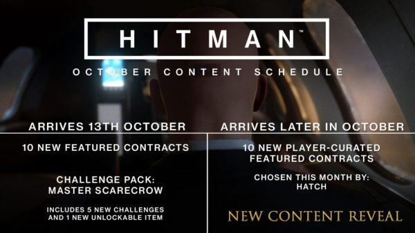 New Hitman content will be announced on October 24