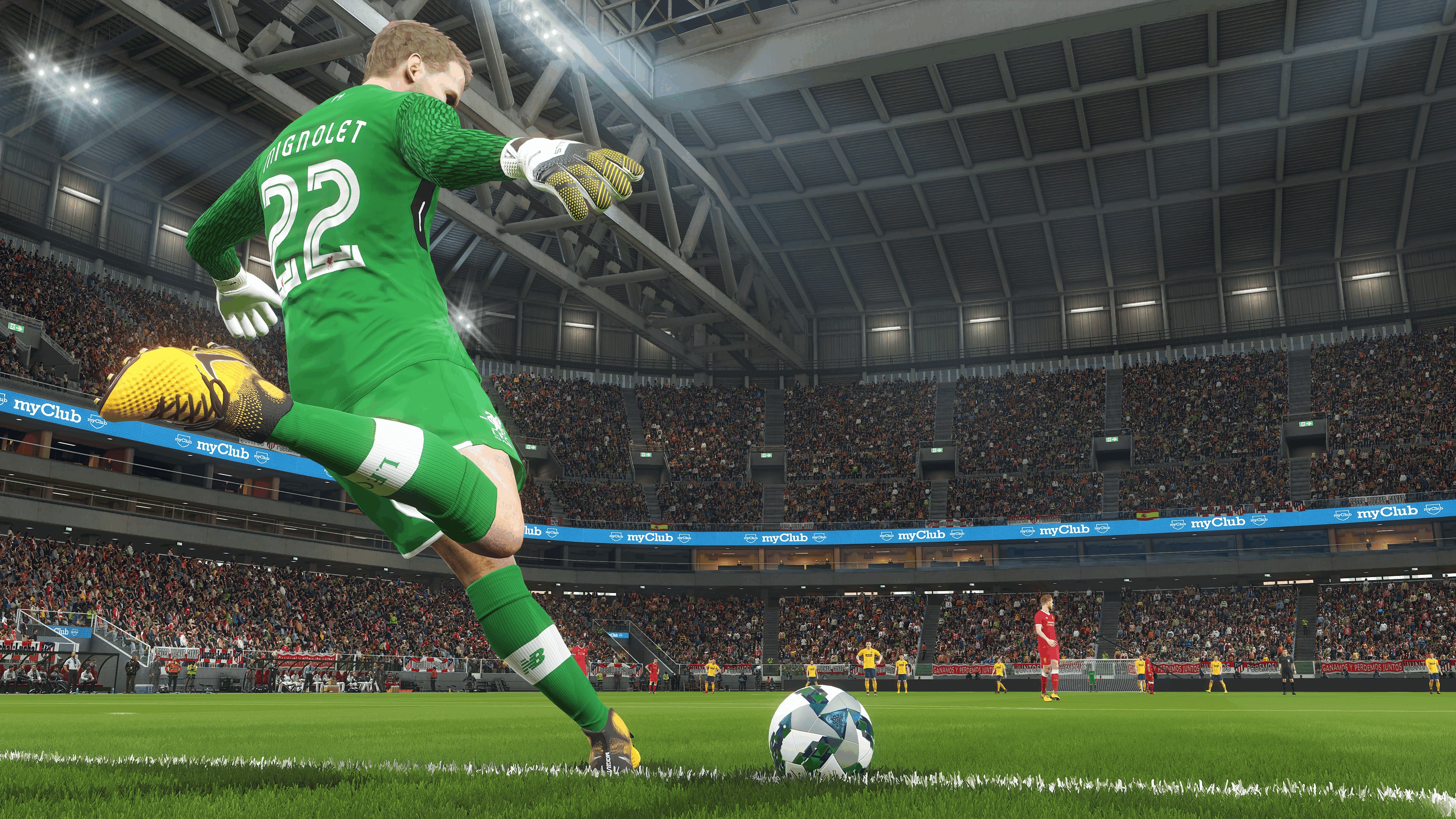Pro Evolution 2018 looks pretty sharp through Nvidia's Ansel tech, and here's the screenshots to prove it