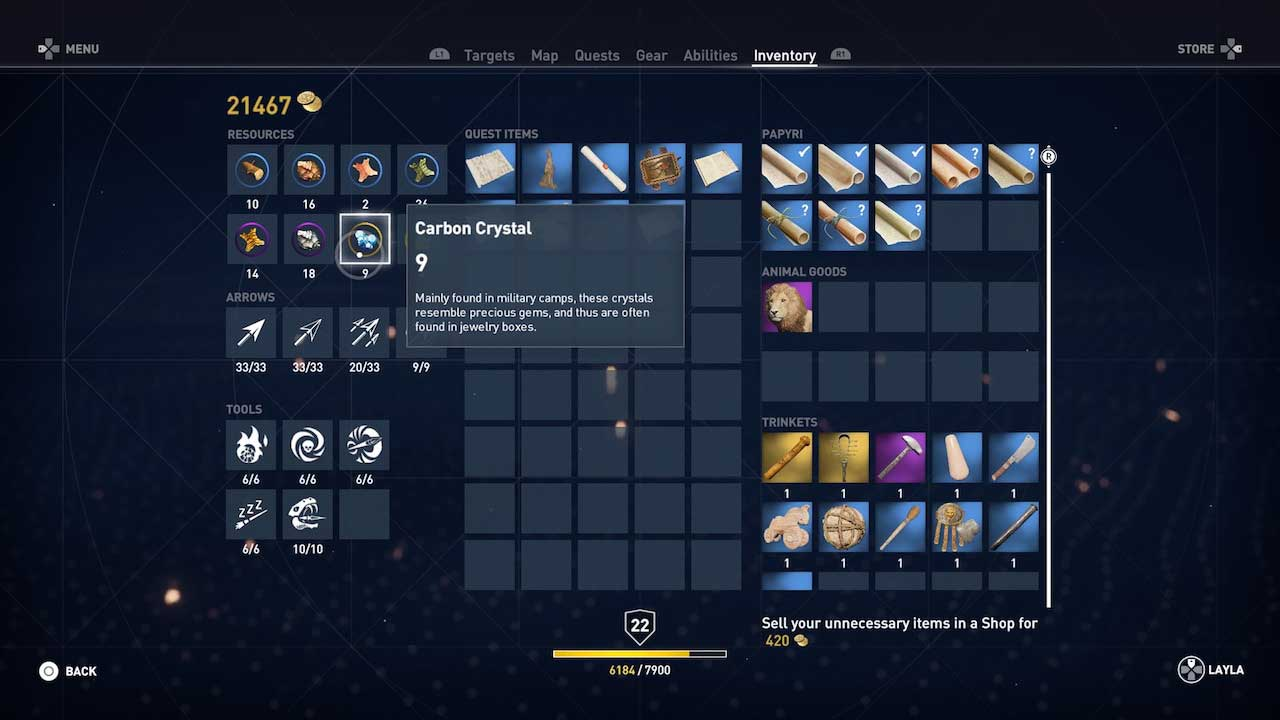 assassins_creed_origins_best_weapons_equipment_upgrade_crafting_materials_guide_5