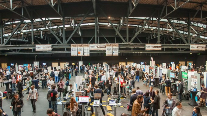 Exhibit for free in Startup Alley at Disrupt Berlin 2017 — applications close Friday
