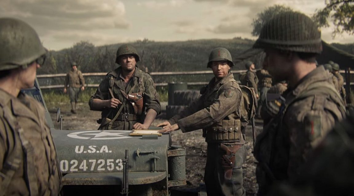 Call of Duty WW2 pre-load live on Xbox One – file size won't break your system