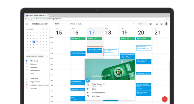 Google Calendar on the web gets a fresh new look
