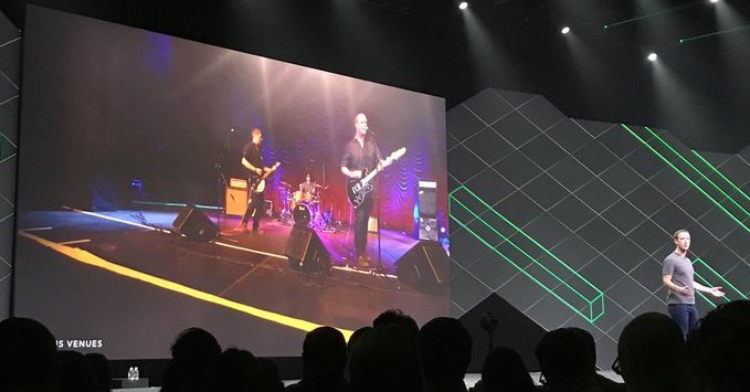 """Facebook plans """"Venues"""" for watching concerts, sports, movies in VR"""