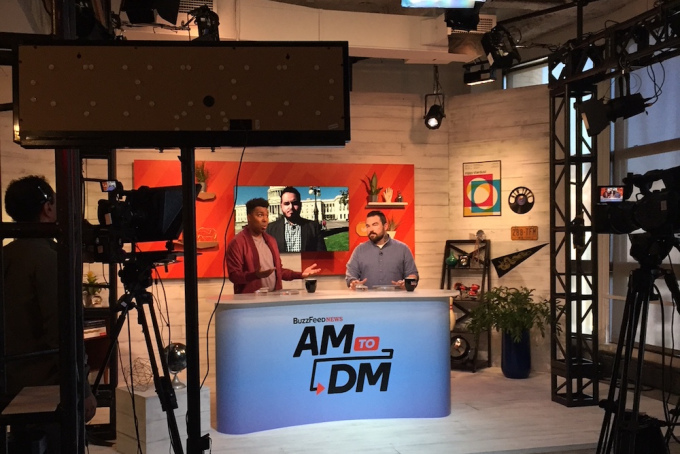 BuzzFeed says its morning news show 'AM to DM' is reaching 1M daily viewers