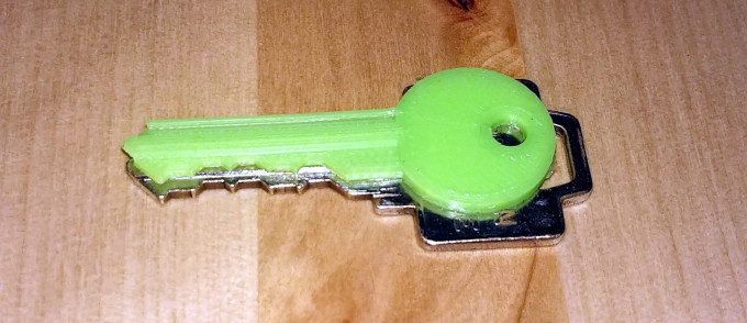 It's just gotten a lot easier to reprint keys from photographs