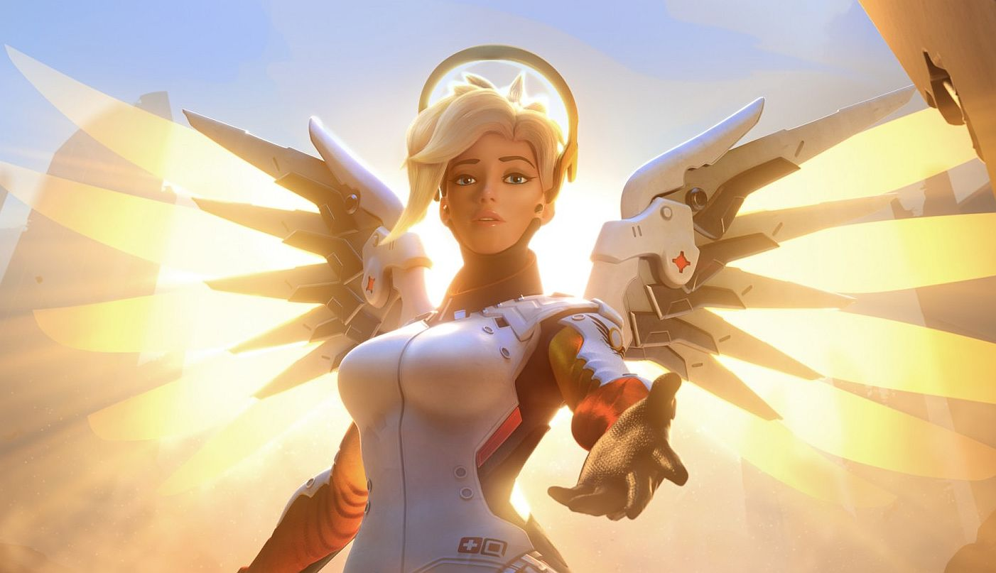 Blizzard is testing a change for the all-new Mercy on Overwatch's PTR