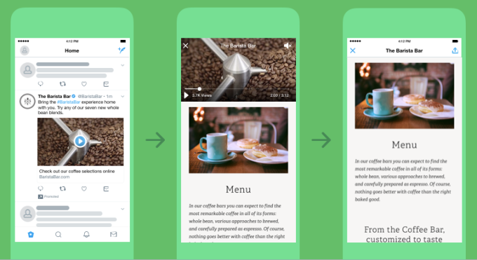 Twitter introduces a new video-centric ad format
