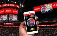 Dropit runs live auctions on stadium scoreboards that fans bid on from the stands