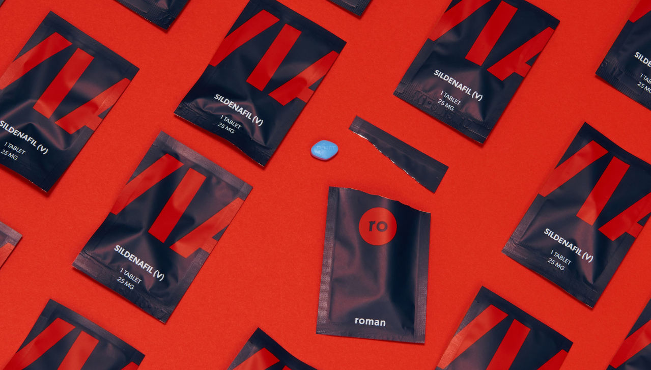 Roman is a cloud pharmacy for erectile dysfunction