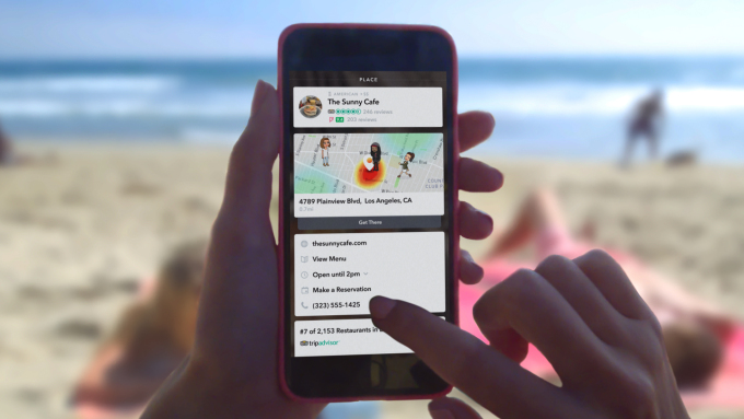 Snapchat's new Context Cards use Snaps for spontaneous discovery