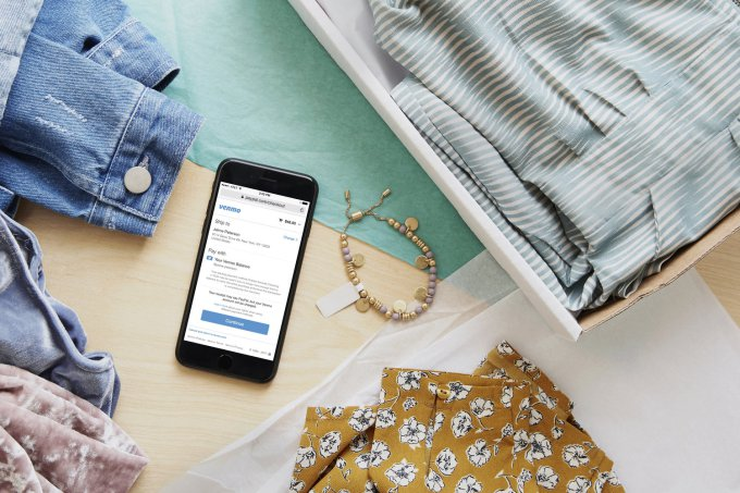 Venmo users can now shop online anywhere PayPal is accepted in the U.S.