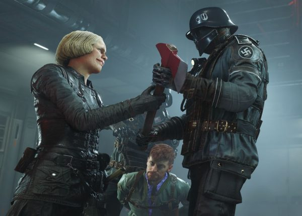 "Wolfenstein 2: The New Colossus tweet causes some to cry foul despite the series being ""decidedly anti-Nazi"" for ""over 20 years"""