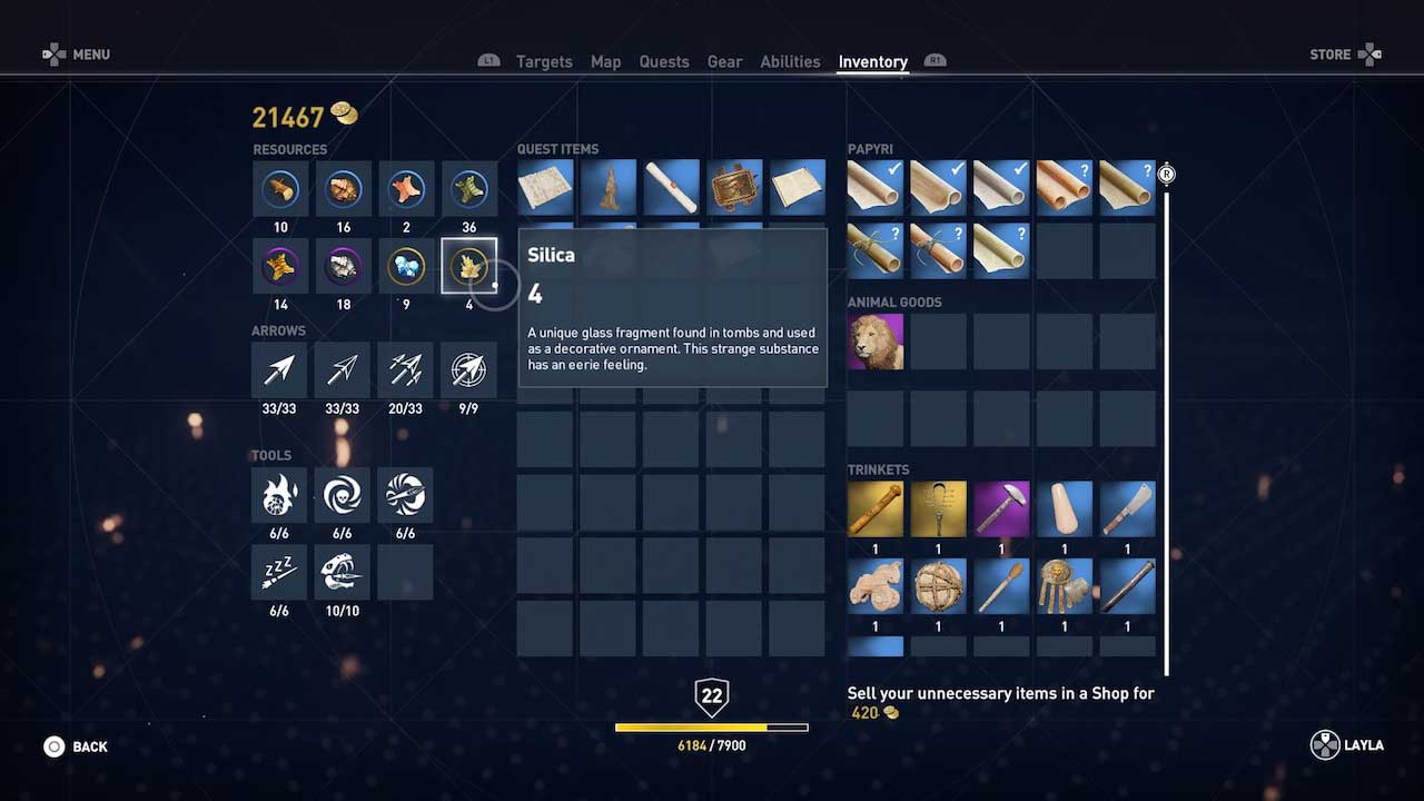 assassins_creed_origins_best_weapons_equipment_upgrade_crafting_materials_guide_4