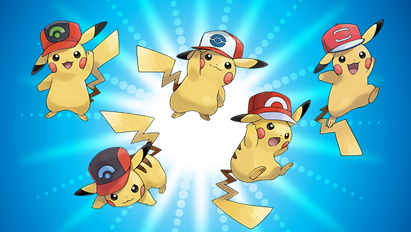 Pokemon: Free Ash's Pikachu Available Now For Ultra Sun And Moon