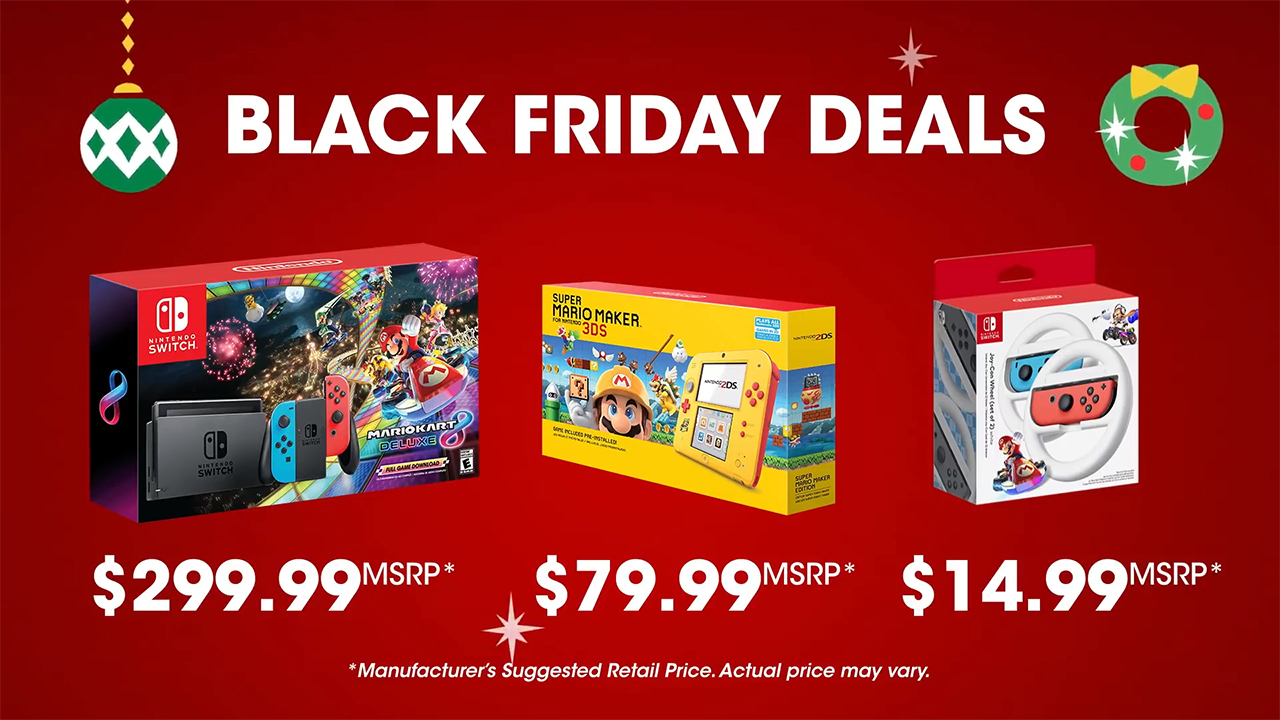 Nintendo Switch Black Friday Bundle Announced Come Join Us
