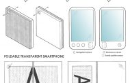 Sony may be working on a transparent, foldable smartphone
