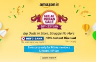 Amazon Great Indian Festival slated for 20-23 January 2019