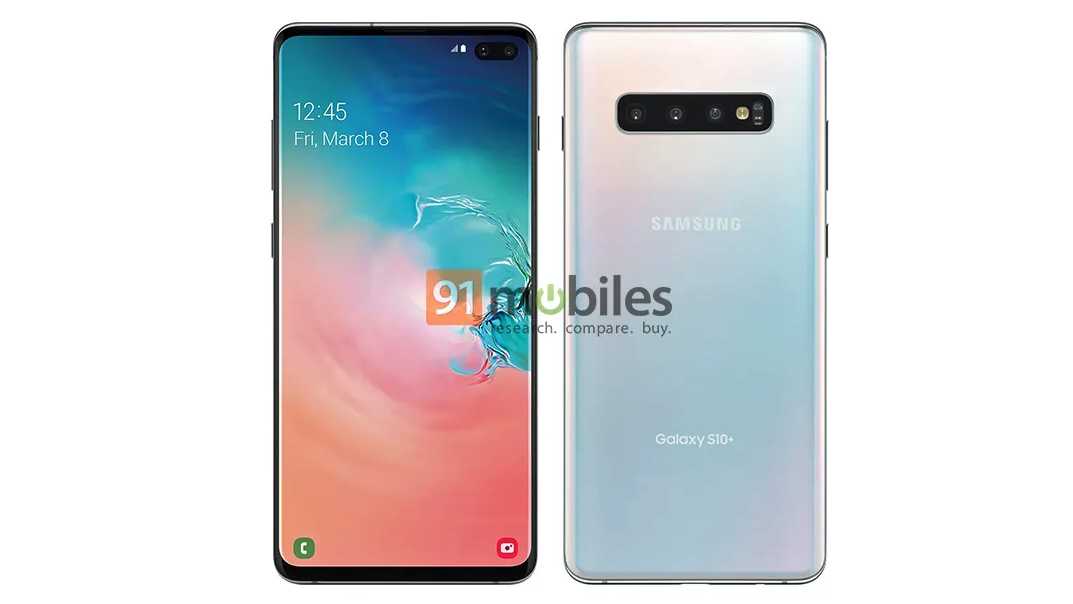 This Samsung Galaxy S10 Plus 'official' photo may be the real deal