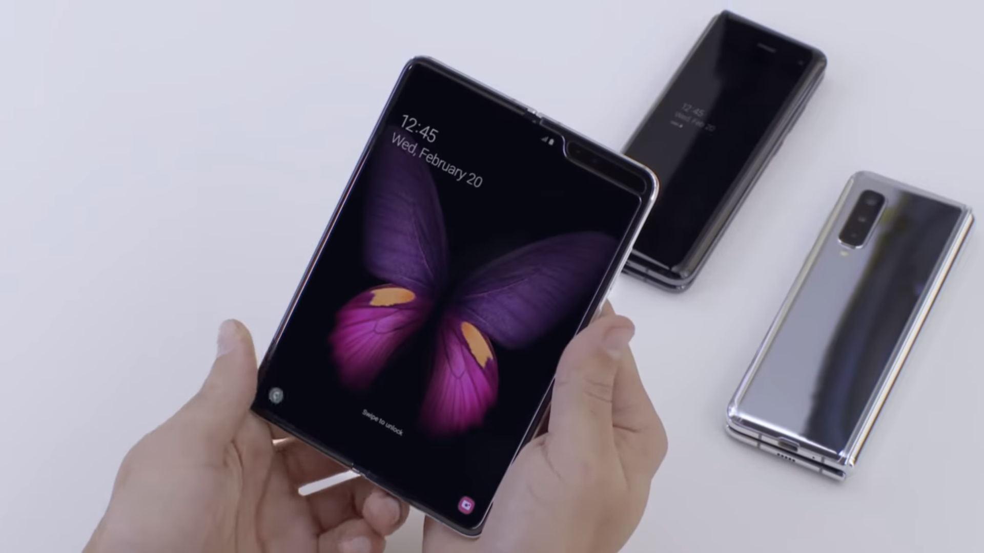 Samsung Galaxy Fold leak suggests major software problems