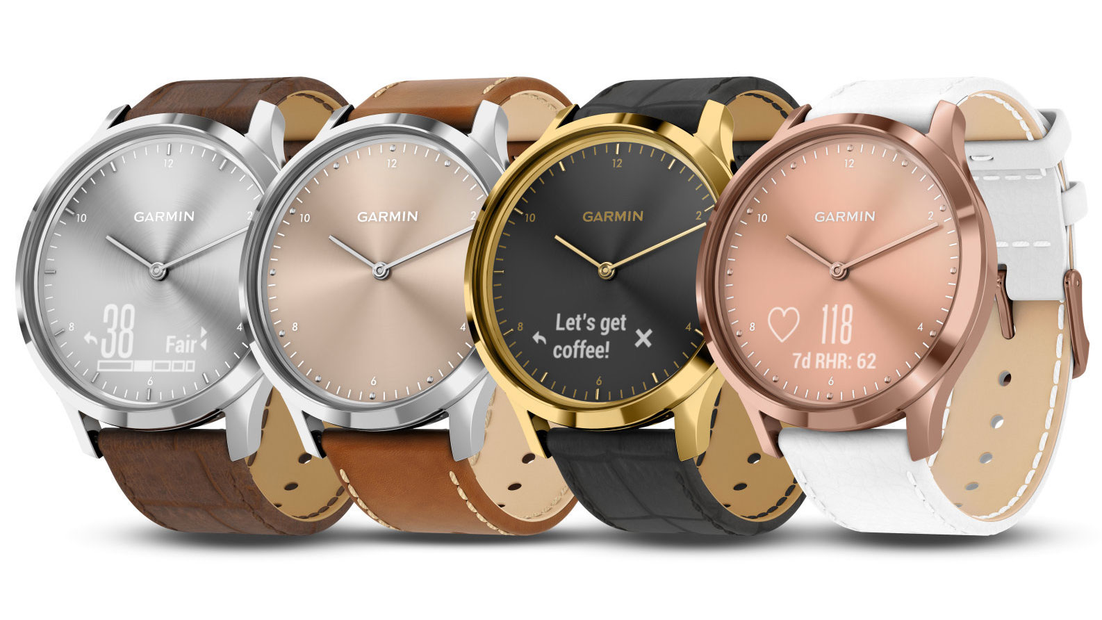 One of Garmin's most stylish smartwatches now comes in four new colors