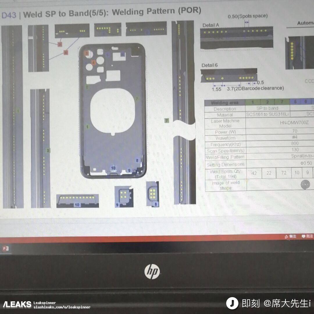 Leaked iPhone 11 schematics seem to support square triple-camera design