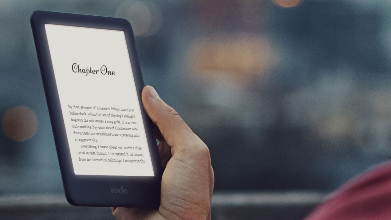 The new Kindle with a front light lands in the UAE