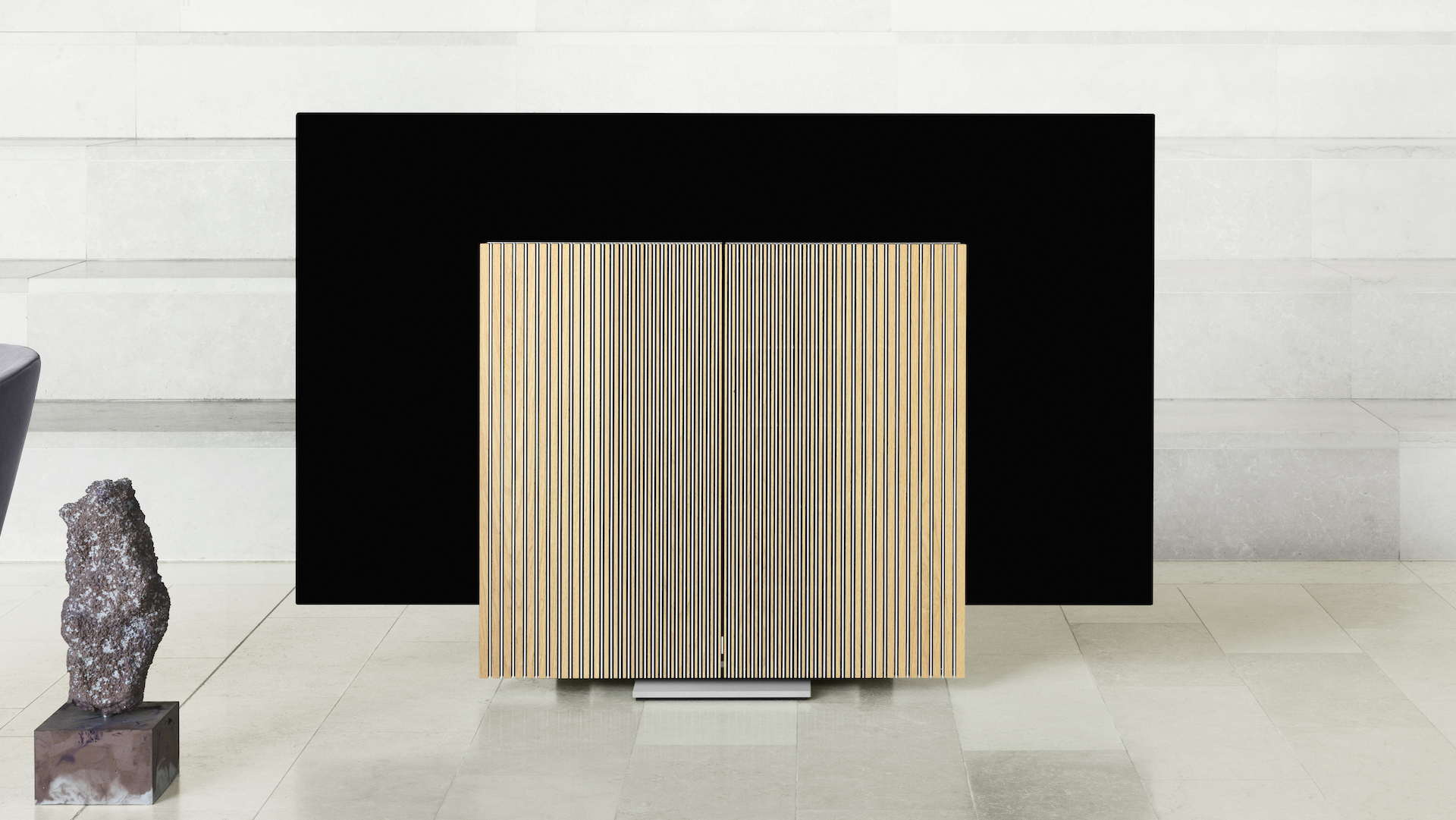 You've never seen a TV quite like the new Bang & Olufsen Beovision Harmony