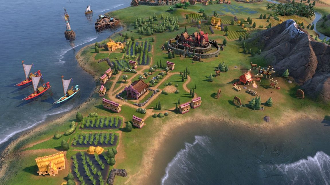 During a global pandemic, Civilization 6 is helping me feel good about humanity