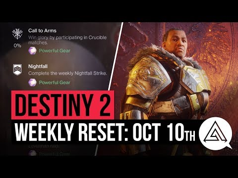 Destiny 2 weekly reset for October 10 – Nightfall, Challenges, Flashpoint, Call to Arms and more detailed