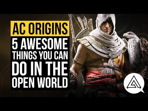 Assassin's Creed Origins: side quests and looting sounds fun, but not as rewarding as taming cats
