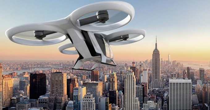 Airbus on track to fly its electric aerial taxi in 2018