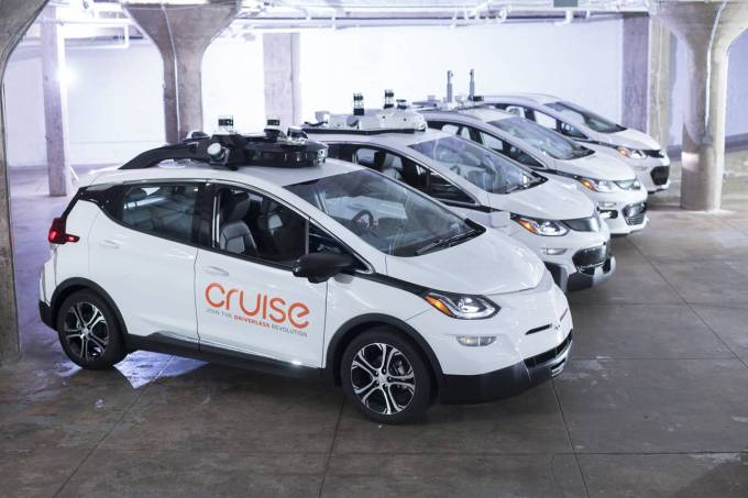 Cruise's self-driving Chevrolet Bolts are coming to New York next year