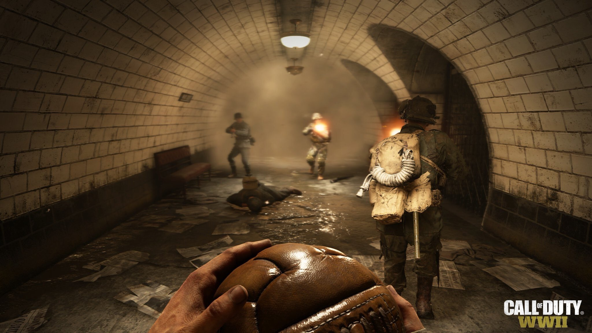 Gridiron is the new Uplink in Call of Duty: WW2, new London map revealed