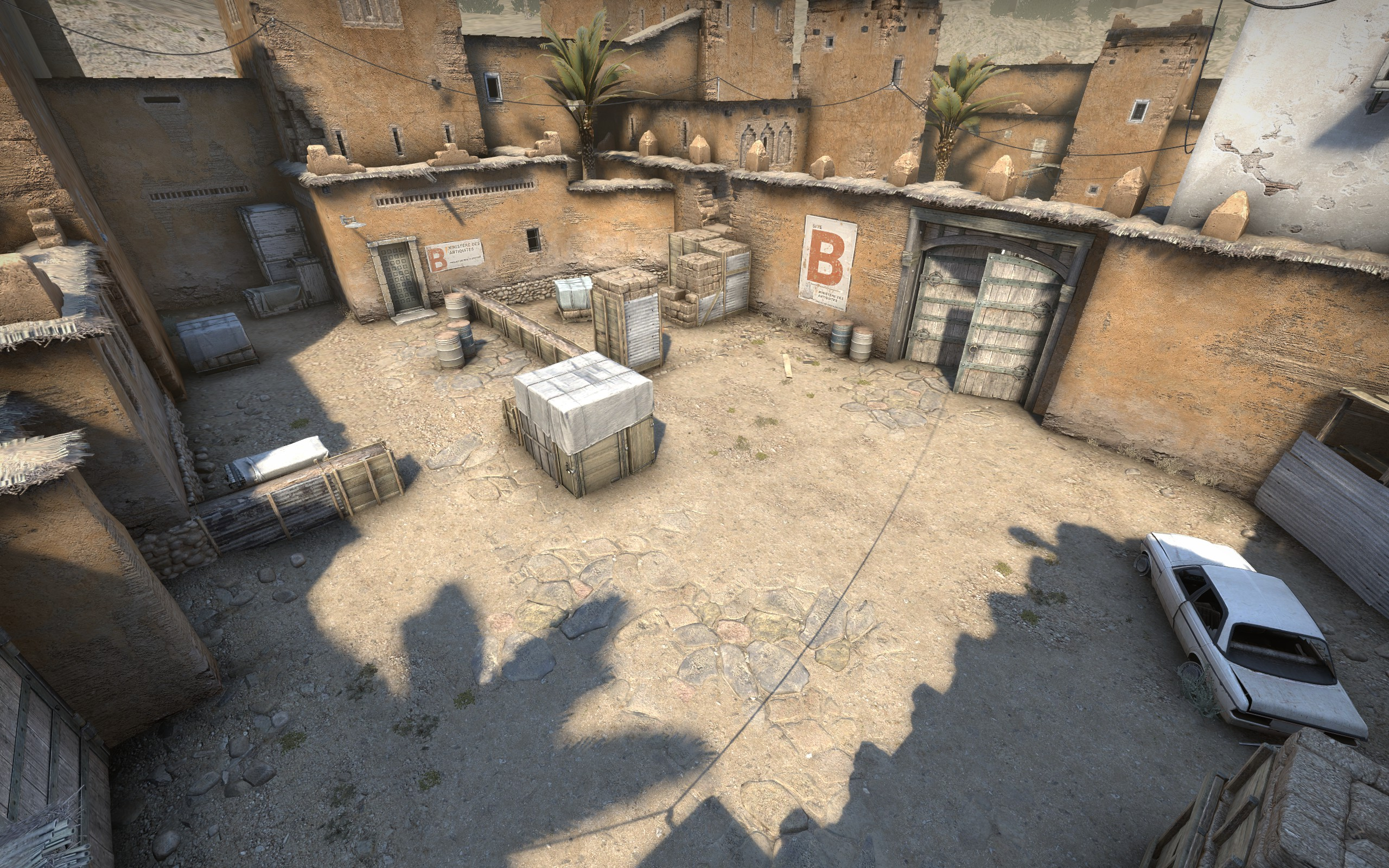 Here's a deeper look at Counter-Strike: GO's improved version of Dust2