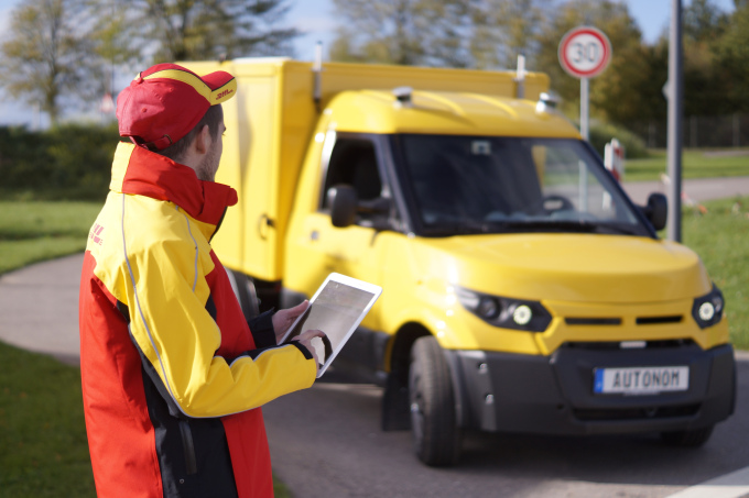 Deutsche Post DHL to deploy self-driving delivery trucks by 2019