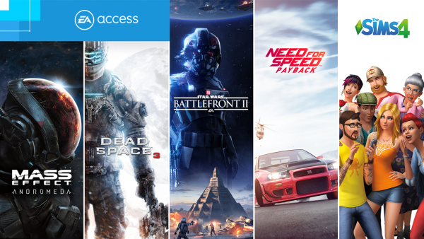 Mass Effect: Andromeda, Play First Trials of Battlefront 2, Need for Speed: Payback, more coming to EA and Origin Access