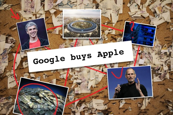 Dow Jones said that Google was buying Apple, and the bots bought it