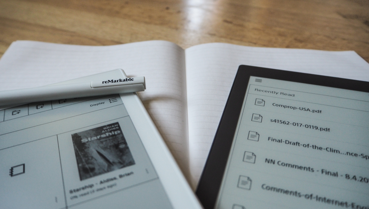 Sony and reMarkable's dueling e-paper tablets are strange but impressive beasts