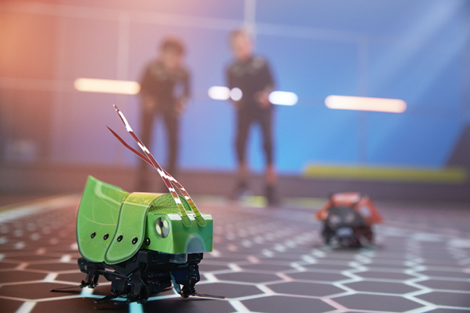 Mattel releases biologically inspired foldable robot bugs
