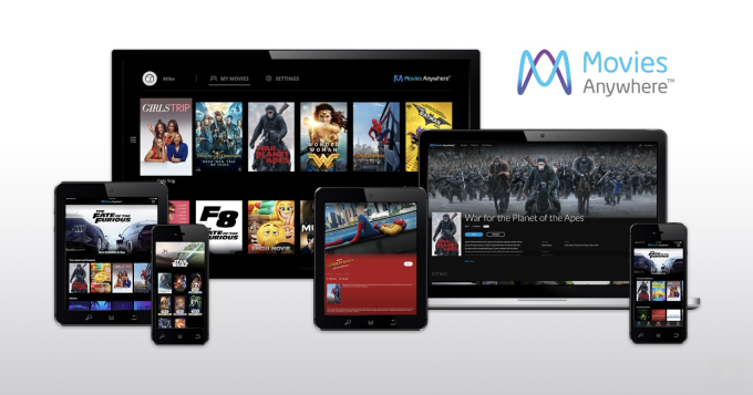 Movies Anywhere brings your movies from Amazon, Google Play, and iTunes together into one app