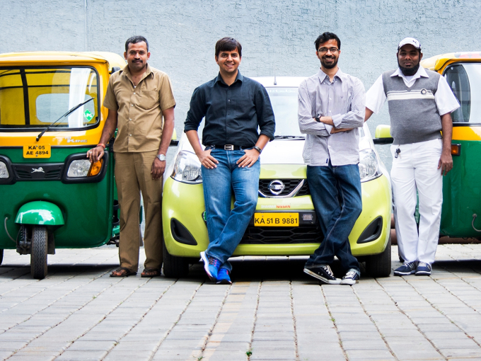 Ola raises $1.1B led by Tencent to fuel battle with Uber in India
