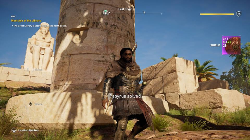 Assassin's Creed Origins: where to find and solve all 25 Papyrus Puzzles to earn the best loot