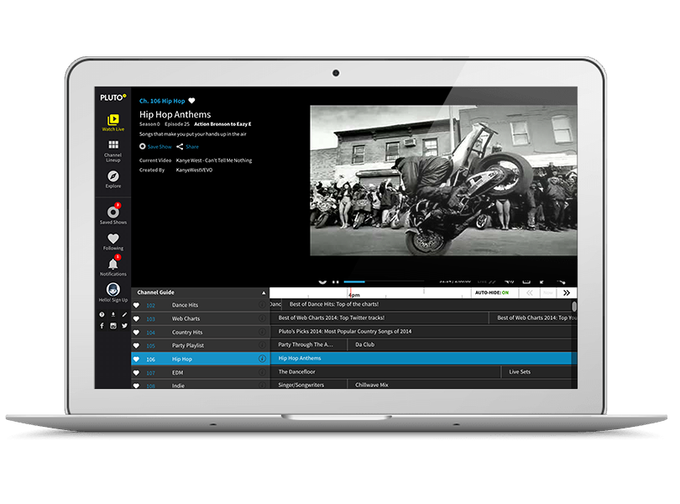 Free streaming TV service Pluto TV raises $8.3M, in new round led by Samsung