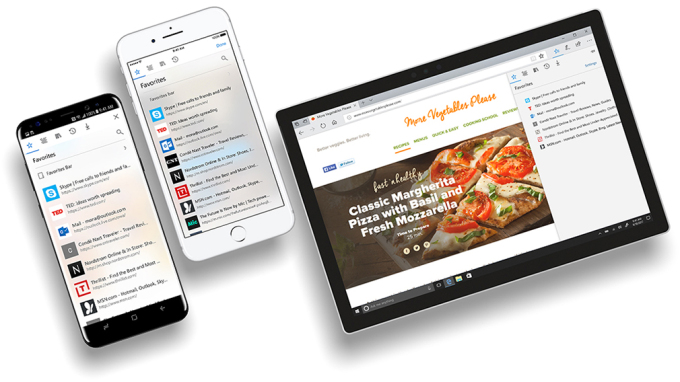Microsoft is bringing its Edge browser to Android and iOS